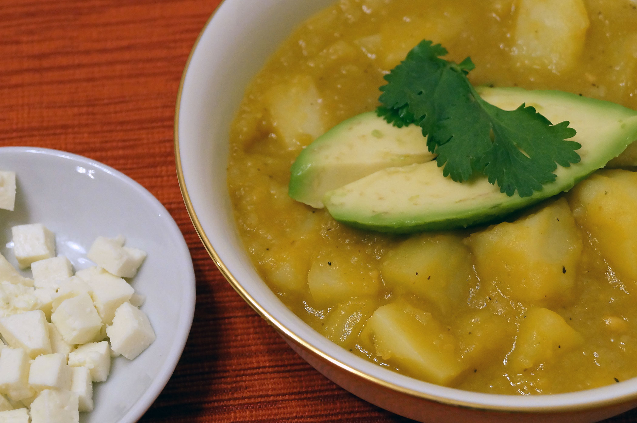 Ecuadorian Potato & Cheese Soup With Avocado (Locro De Papa Con Queso ...