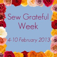 Sew Grateful button
